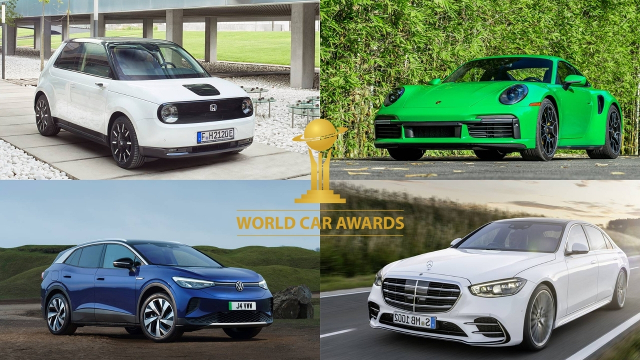 電動車獲2021 年世界年度汽車獎