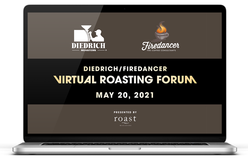 與 Diedrich 和 Firedancer 共同舉辦咖啡烘焙論壇