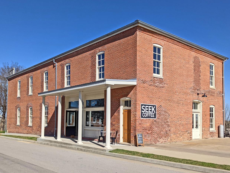 Seek Coffee 在密蘇里州紐黑文找到自己的位置