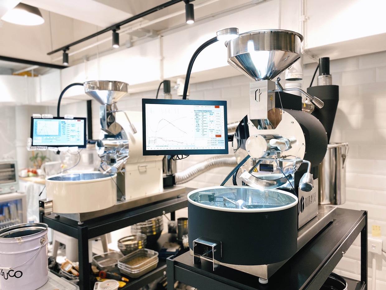 使用 NIR 熱,從台灣輻射出的 Rubasse 烘焙機