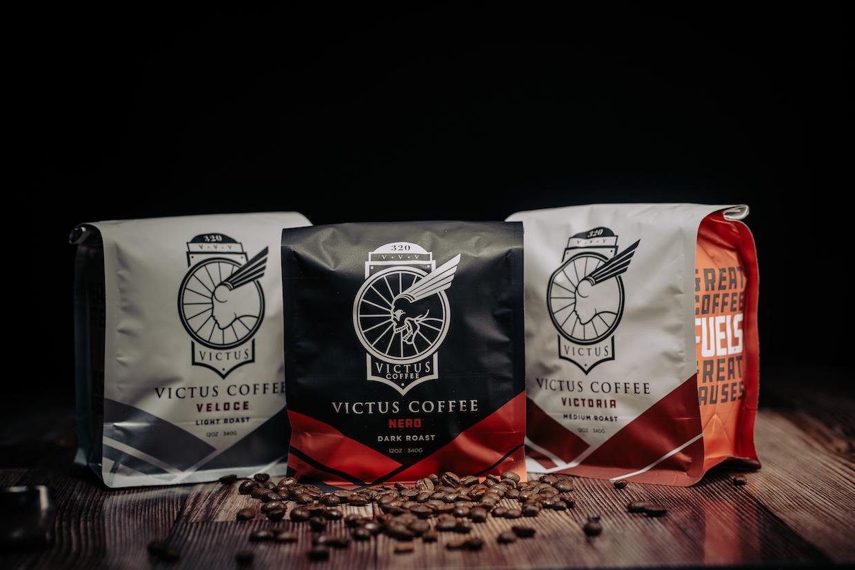 設計細節:Victus Coffee 強調為事業加油