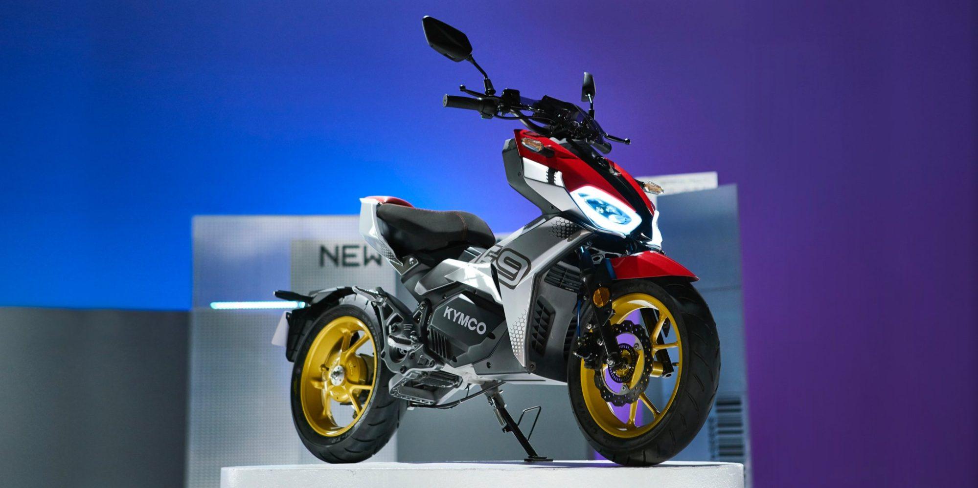 """KYMCO F9作為""""酷城市電動摩托車""""亮相,配備2速自動變速箱"""