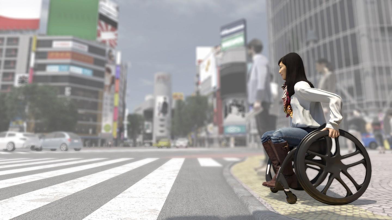 豐田的智能電動輪椅