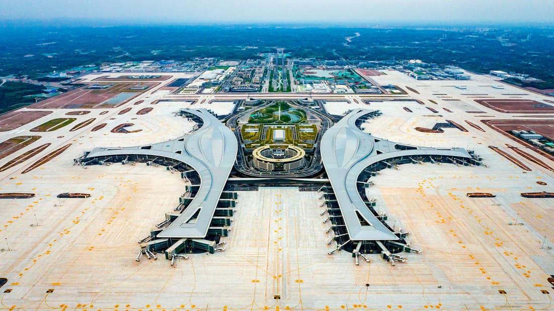 中國最新的大型機場正式開放