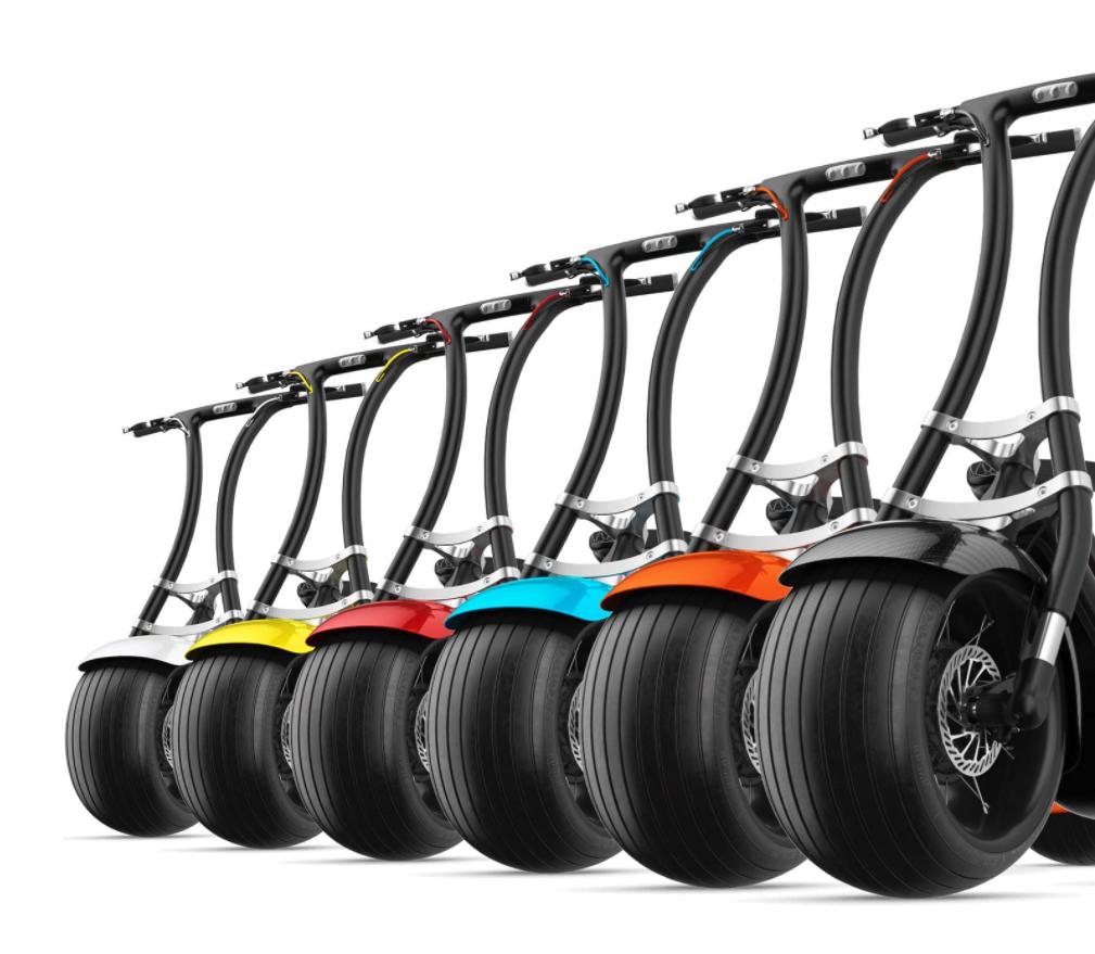 這款新的胖胎低底盤能讓電動滑板車變酷嗎?