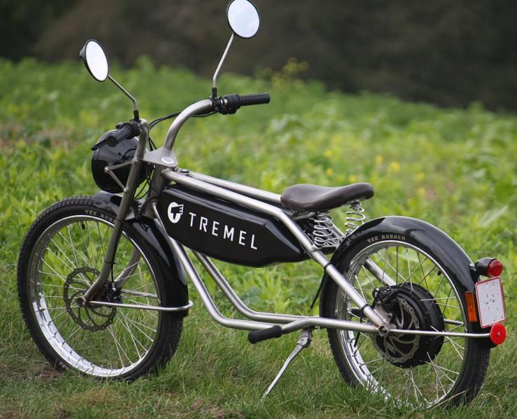 Tremel Zimmner 復古風格的電動輕便摩托車