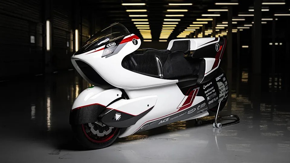 Top Gear稱世上最快的電動摩托車
