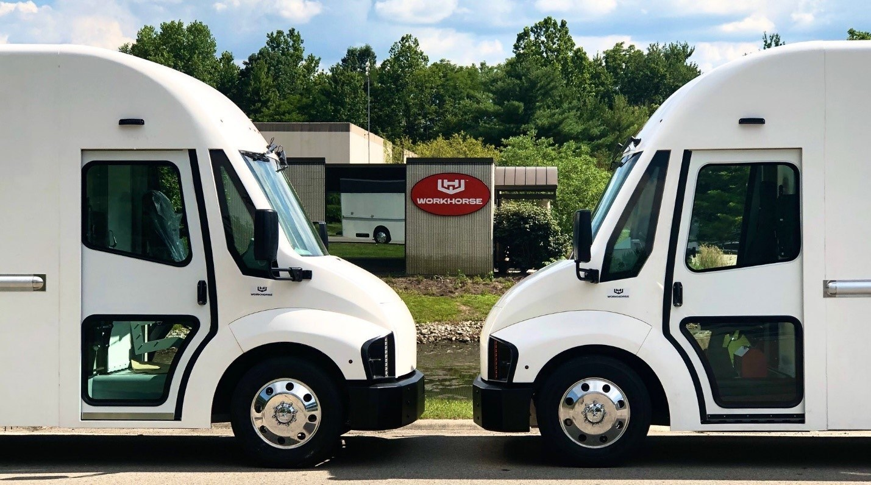 Workhorse 收到了 6,320 輛電動送貨車的訂單