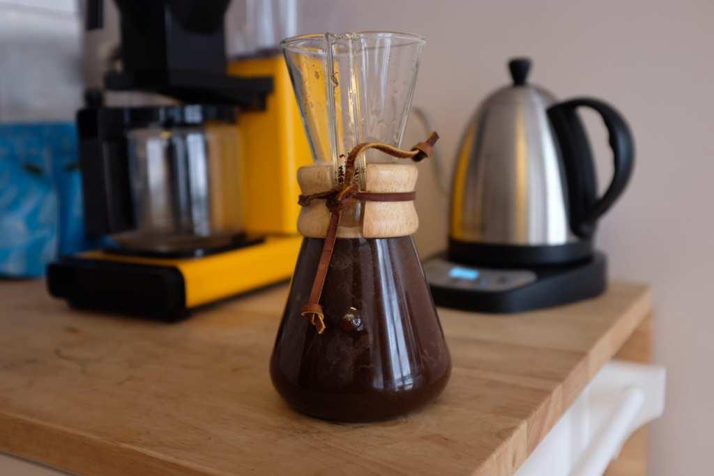 如何用 CHEMEX 製作冷萃咖啡