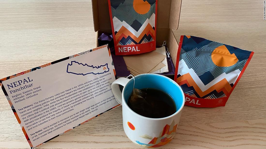 與阿特拉斯茶俱樂部一起用茶環遊世界