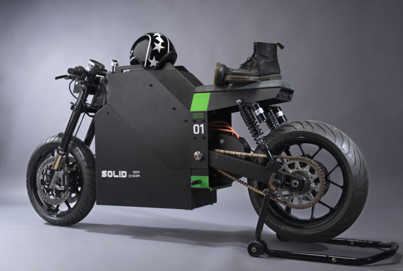 來自荷蘭的 SOLID 推出首款量產車型