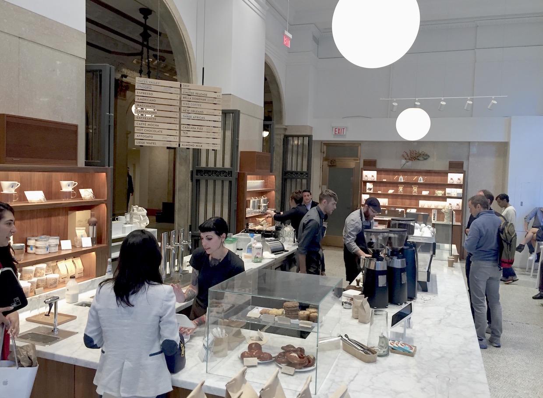 藍瓶咖啡規劃第一芝加哥咖啡館