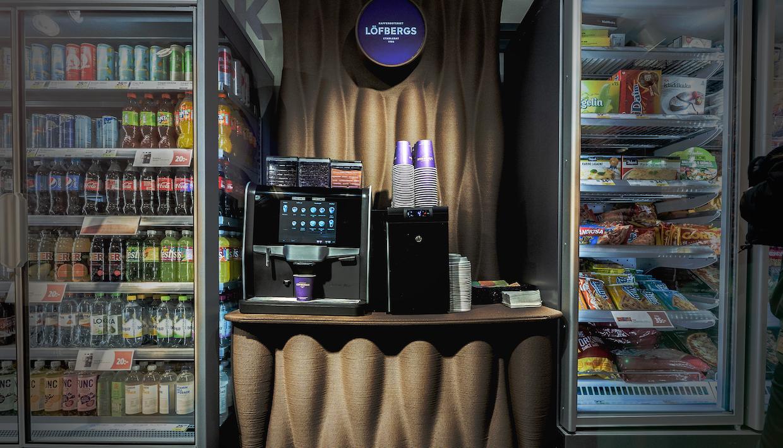 瑞典 Roaster Löfbergs 推出用製成的咖啡台