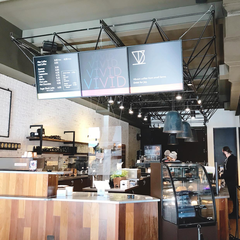 有了 Burlington 咖啡館,佛蒙特州的 Vivid 咖啡正蓬勃發展