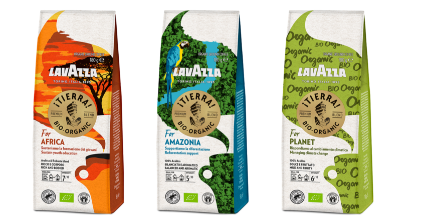 Lavazza 推出全新 ¡Tierra! 有機咖啡系列